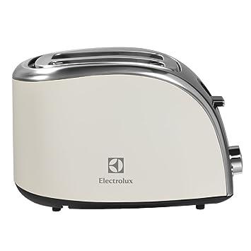 Electrolux EAT7100W – Tostadora de doble ranura y calentador de pan y bollería, color blanco