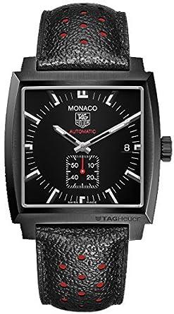TAG Heuer Monaco - Reloj (Reloj de pulsera, Masculino, Acero, Titanio,