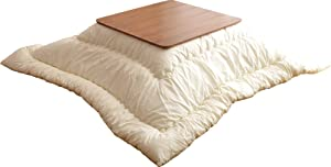 EMOOR Washable Kotatsu Futon Comforter (Uncovered), Square-Type, Made in Japan