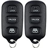 KeylessOption Keyless Entry Remote Control Car Key Fob Replacement for HYQ12BAN, HYQ12BBX, HYQ1512Y (Pack of 2)
