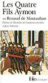 Les Quatre Fils Aymon ou Renaud de Montauban par Anonyme