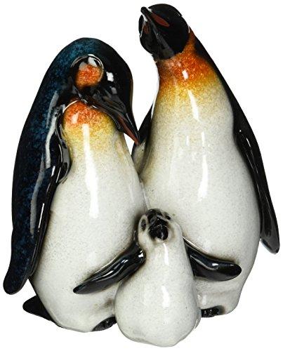 Baby Penguin Figurine - StealStreet SS-UG-YXC-934 Playful Baby Penguin with Mother & Father Figurine, 6.25