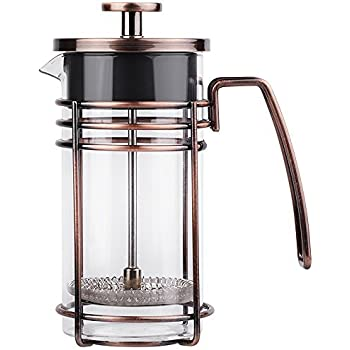 51ZvMlQdHwL. SL500 AC SS350   Cup French Press Coffee Maker Amazon Com Brillante Small French Press Coffee Maker With  Ounce  Cup Glass Beaker