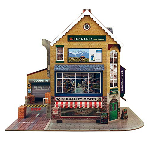 Used, O Gauge 1:48 Scale Corner SUPERMART Cardboard Model for sale  Delivered anywhere in USA