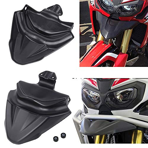 Star-Trade-Inc - Motorcycle CRF 1000 L Front Nose Fairing Beak Extender Cowl Protector Fender Cover for - For Honda CRF1000L CRF 1000L ()