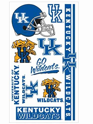Wildcats Tattoo - WinCraft Kentucky Wildcats Gameday Blue Orange Temporary Tattoos (Set of 2)