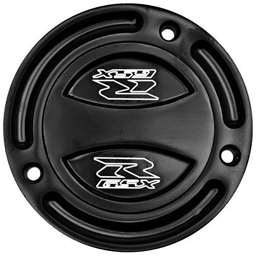 Krator Black Keyless Gas Cap Twist Off Fuel Tank Cap Logo For Suzuki Bandit GSF1250S 2007-2009