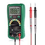 Digital Multimeter, GBTIGER 2000 Counts Auto-Ranging DMM Digital Multimeter Voltage Multi Meter with LCD Backlight Volt Amp Ohm Diode and Continuity Test