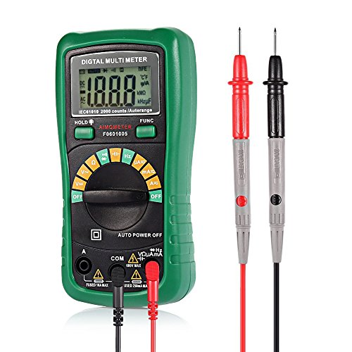 how to read continuity on a digital multimeter