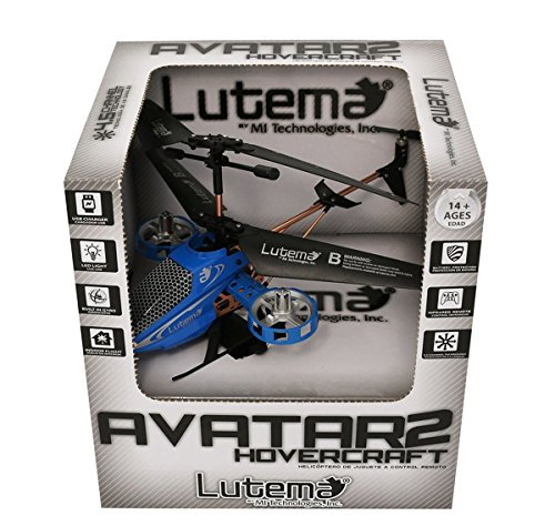 Lutema MIT6CAVHB Avatar 2 Hovercraft 4CH Remote Control Helicopter , Blue - http://coolthings.us