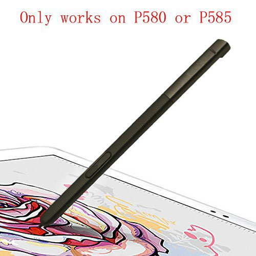 Touch Stylus S Pen Replacement Parts For Galaxy Tab A 10.1 2016 SM-P580 P580 P585 (Dont work on T580 & T585) Black