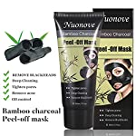 Charcoal Peel Off Mask, Peel Off Mask, Blackhead Remover Mask, Deep Purifying Blackhead Mask, Activated Charcoal Deep Pore Cleansing Mask for Face Nose Acne Treatment Oil Control