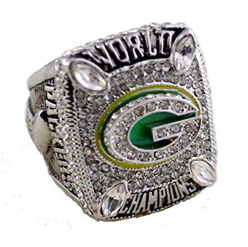 SPORTS RING 2010 GREEN BAY PACKERS WORLD CHAMPIONS/ ...fast - Packers Bay Green Ring