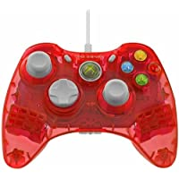 PDP Rock Candy Wired Controller: Stormin' Cherry for Xbox 360