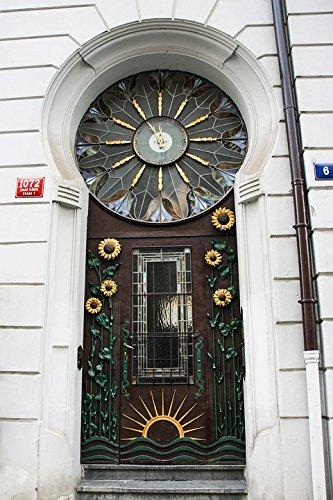 Home Comforts LAMINATED POSTER Art Nouveau Decorative Front Door Old Town Prague Poster