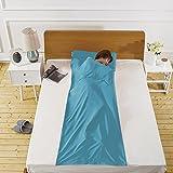 Sleeping Bag Liner Cotton Sleep Sack Camping Travel Outdoor Picnic Travel Sheet Sleep Sack Comfortable, for Travel, Youth Hostels, Picnic, Planes, Trains