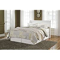 Ashley Anarasia Queen Sleigh Headboard in White