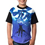 Raven Feathered Flyer Glider Kid Boy's Girl's Short Sleeve Round Neck Funny Tank T-Shirt XL