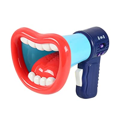 TOYANDONA Voice Changer for Kids with Megaphone Function Handheld Mic Toy Voice Amplifier Megaphone for Festival Birthday (Random Color): Sports & Outdoors