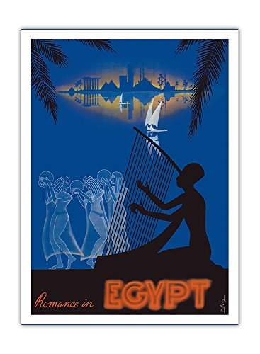 Love on the Nile River Giclée Art Print