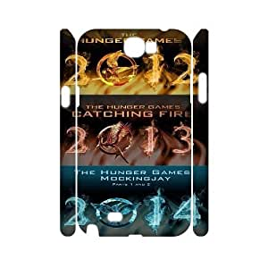 FLYBAI The Hunger Games Catching Fire Katniss Phone 3D Case For Samsung Galaxy Note 2 N7100 [Pattern-5]