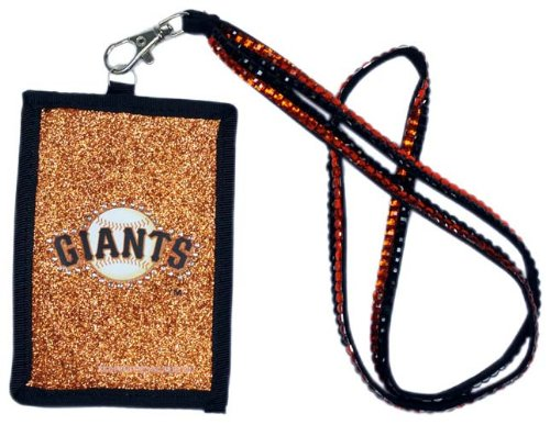 - MLB San Francisco Giants Beaded Lanyard with Nylon Wallet