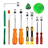 Paddsun 12 in 1 Repairing Screwdriver Tool Kit Set Fit PS4 XBox One 360 Game Console