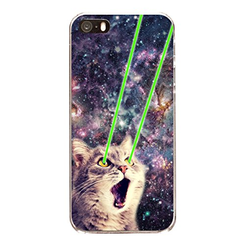 "Disagu SF-sdi-4558_1154#zub_cc6486 Design Schutzhülle für Apple iPhone SE - Motiv ""Spacecat 01"""