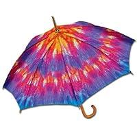 Tie Dye Stick Umbrella by LaSelva Designs