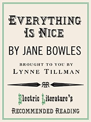 book cover of Everything is Nice