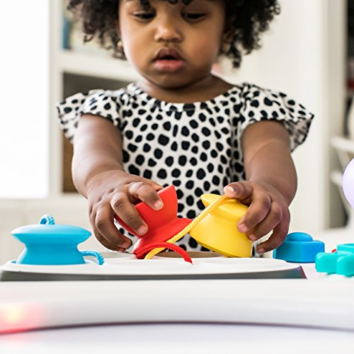 51ZvRA6ZwDL - Baby Einstein Curiosity Table Activity Station Table Toddler Toy with Lights and Melodies, Ages 12 months and up