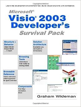 Book Visio 2003 Developer's Survival Pack