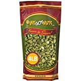 We Got Nuts Pumpkin Seeds Healthy Snacks 4 Lbs (64oz) Bag | Raw Pepitas No Preservatives Added, Non-GMO, 100% Natural With No
