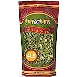 We Got Nuts Pumpkin Seeds Healthy Snacks 4 Lbs (64oz) Bag | Raw Pepitas No Preservatives Added, Non-GMO, 100% Natural…