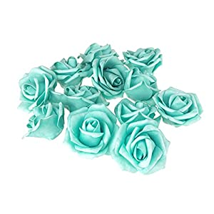 Homeford Foam Roses Flower Head Embellishment, 3-Inch, 12-Count 53