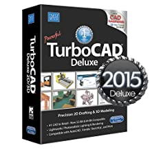 TurboCAD Deluxe 2015 & Basic Training included FREE