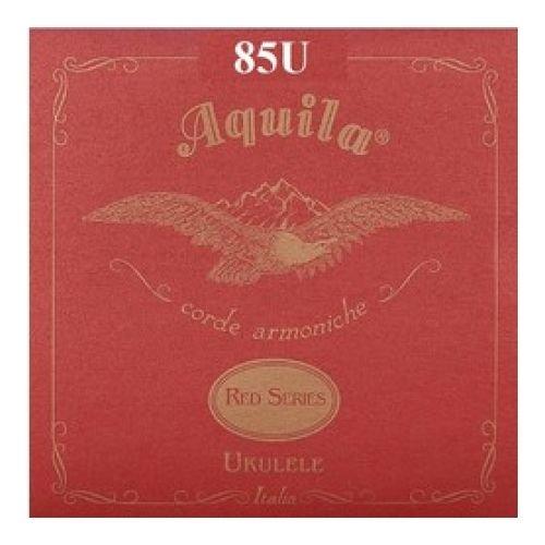 - Aquila 85U RED SERIES, Ukulele CONCERT Regular Tuning, Key of C - GCEA