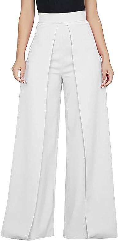 OverDose Soldes Pantalon Large Taille Haute