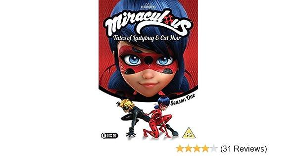 Amazon com: Miraculous Tales of Ladybug & Cat Noir: The Complete