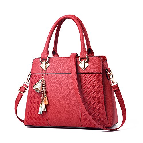Red Satchel Handbags - 1