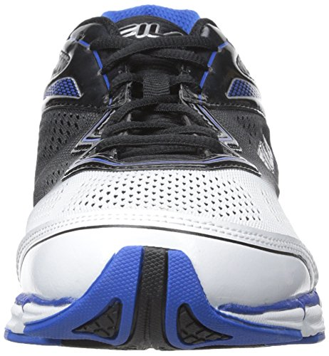 Fila Mens Mechanic 2 Energized Running Shoe White, Prince Blue, Black
