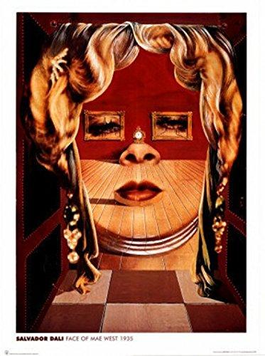 Divano Labbra Di Mae West.Salvador Dali Viso Di Mae West Che Puo Essere Usato Come