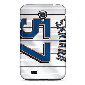 TimeaJoyce Samsung Galaxy S4 Perfect Cell-phone Hard Covers Custom Nice New York Mets Pattern [jrW11890LeWZ]
