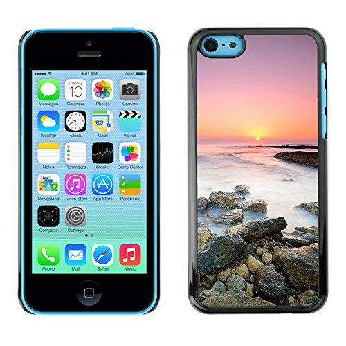 Premio Sottile Slim Cassa Custodia Case Cover Shell // F00004043 le coucher du soleil // Apple iPhone 5C