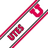 NCAA Utah Utes Accent Logo Self-Stick Wall Border