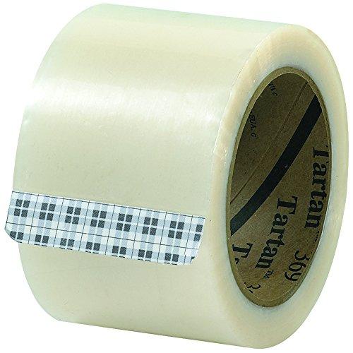 Tartan T905369 Carton Sealing Tape, 3