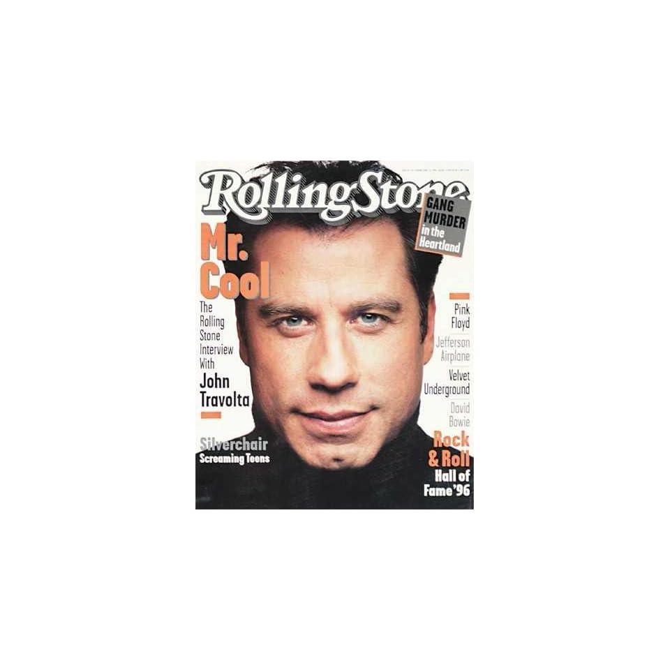 Rolling Stone Magazine, Issue 728, February 1996, John Travolta Cover Books