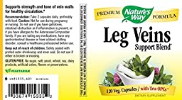 "Nature\'s Way Leg Veins with Tru-OPCsâ""¢, 120 VCaps"