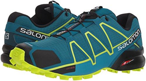 Hommes Reflecting Pour Course Chaussures Speedcross Lime 000 Trail De Lagoon Salomon Multicolores deep 4 Acid Po X4FqYOF