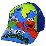 Sesame Street Blue Baseball Cap - Size Toddler [6014]